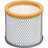 Ribimex Filtre HEPA pour aspirateur à cendres Babycen, orange, gris et blanc, petite taille