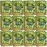 Oleanderhof® Sparset: 12 x COMPO Bäume, Hecken, Sträucher Langzeit-Dünger, 2 kg + gratis Oleanderhof Flyer