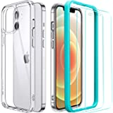 ESR Cover Compatibile con iPhone 12, Cover Compatibile con iPhone 12 PRO + Pellicola in Vetro Tempar...