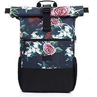 RJEU Rucksack Damen,Laptop Rucksack für 17.3 Zoll Laptop,Schulrucksack Frauen Mädchen Teenager mit USB-Ladebuchse für…