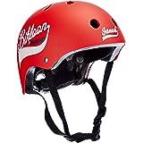 """Janod J03270""""Bikloon"""" hjälm för cykel och cykel, för barn, röd, storlek S, justerbar, 47–54 cm, 11 ventilationshål, för barn"""