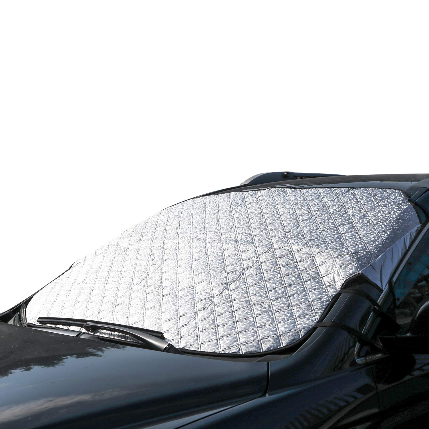 CAR WINDSCREEN WINDSHIELD WINDOW FROST ICE SNOW COVER SUN SHADE MIRROR PROTECTOR