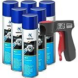 AUPROTEC Nettoyant de Freins Multicleaner MC-1 Purificateur Intense Transparent Spray 6X 500ml + 1x poignée Originale pour Bo