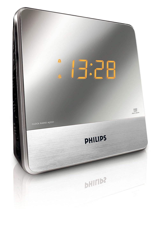 Philips aj3700 radio r veil avec tuner fm projection de l - Reveil avec projection de l heure au plafond ...