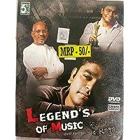 Legend's of Music (A R Rahman & Raja) DVD Songs