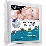 Dreamzie Wasserdichter Matratzenschoner für Kinder 60 x 120 cm - Babybett Atmungsaktiv, Anti-Allergisch gegen Milben und Schimmel - Matratzenbezug mit neuartiger Behandlung: Optimaler Schutz