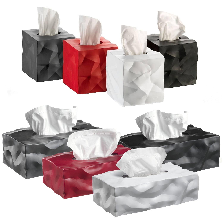 Essey Wipy Cube Caja de pa/ñuelos Diferentes tama/ños M Rojo