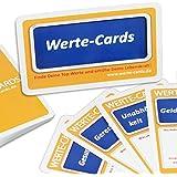 Werte Cards im Set zur Selbstfindung, Berufsorientierung, Coaching, Teamarbeit und Seminare: 33 Coaching-Karten zum…
