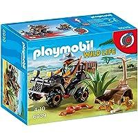 Playmobil- Braconnier avec Quad [Exclusif Amazon]