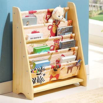 HOMFA Bücherregal für Kinder Büchergestell im Kinderzimmer