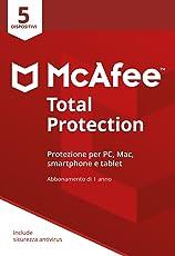 McAfee MTP 5 Total Protection con 5 Dispositivi