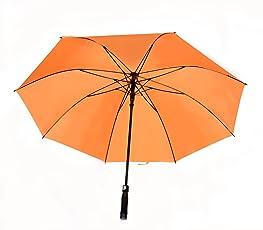 Shroff's Anchor Automatic Open Large Orange Umbrella