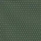 Fabulous Fabrics Futterstoff Jacquard Minirauten - grün -