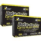 Olimp Beta-Alanin Carno Rush 160 Tabletten, 2er Pack á 80 Tabs. (2 x 142,4g)