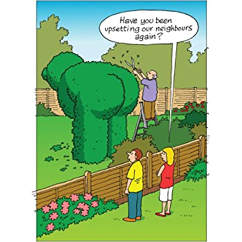 HOW TO ANNOY YOUR NEIGHBOURS FUNNY HUMOROUS BIRTHDAY CARD