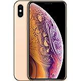 موبايل ابل ايفون XS بخاصية فيس تايم - 256 جيجابايت، 4G LTE، ذاكرة رام 4 جيجابايت، شريحة اتصال واحدة وشريحة مدمجة، ذهبي