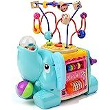 TOP BRIGHT Motoriekdobbelstenen voor baby's vanaf 1 jaar, verjaardagscadeau, motoriekspeelgoed voor jongens en meisjes, babys