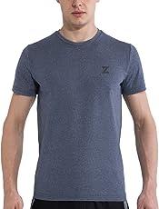 Azani Vintage Athletic Cool Tech Running, Training & Fitness Short Sleeve Tshirt