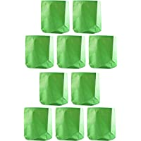 """YUVAGREEN Terrace Gardening Leafy Vegetable Green Grow Bag (12"""" X 15"""") - (Pack of 10)"""