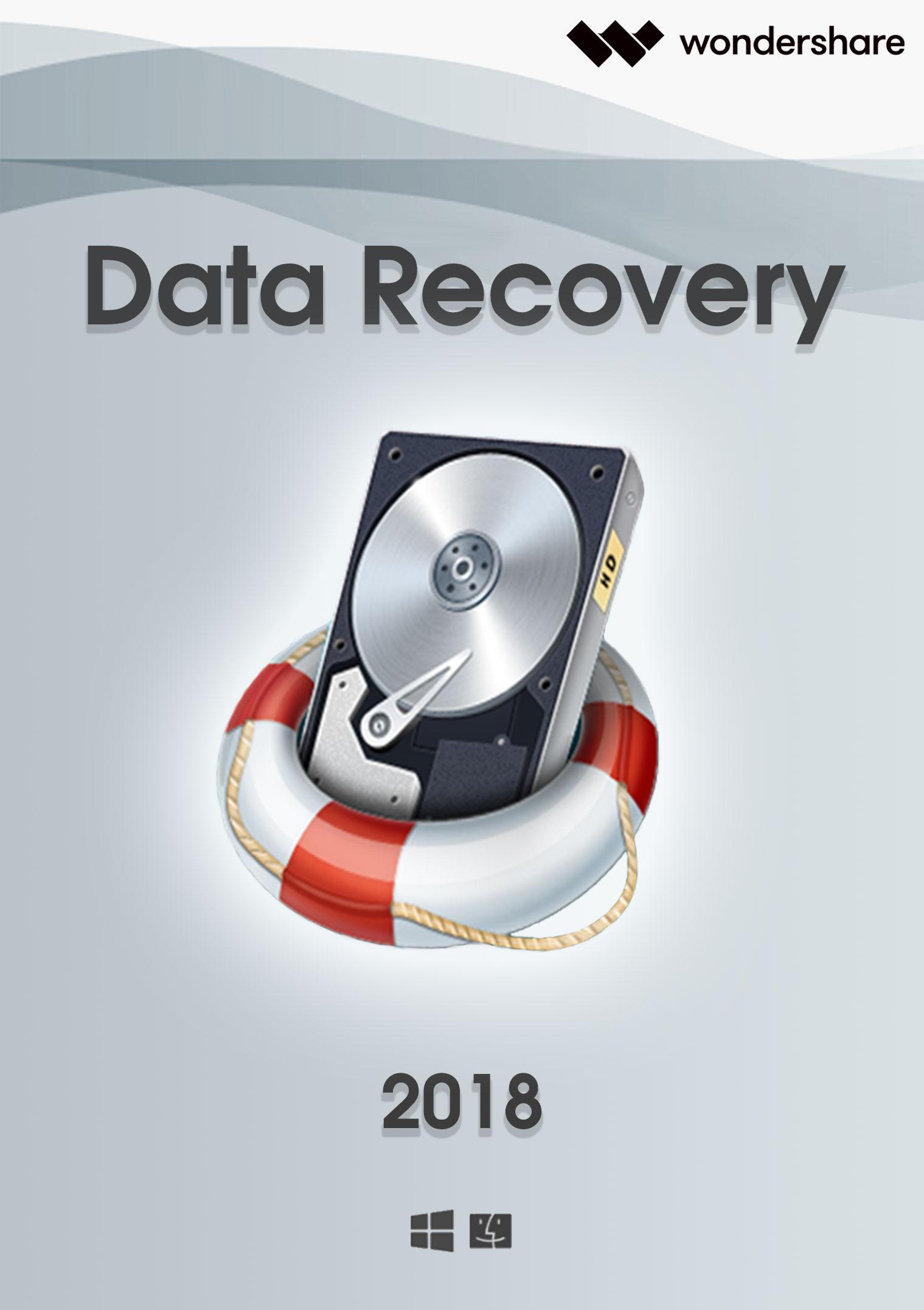 Wondershare Data Recovery für PC - 2018 [Download]