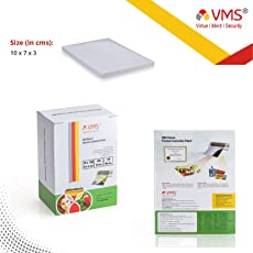 VMS Deluxe Laminating Pouch Film 175 Microns (Lamination Pouch) (70 x 100mm) Set of 2(200 Pouch) Specially for ID Card