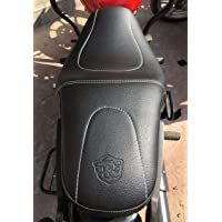 SaharaSeats Royal Enfield Thunderbird 350X and 500X Cushion Design Seat Cover (350x, Design)
