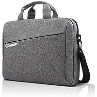Bennett™ Mystic 15.6 inch Laptop Shoulder Messenger Sling Office Bag, Water Repellent Fabric for Men and Women (Grey)