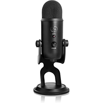 Blue Microphones Yeti USB Microphone, Blackout