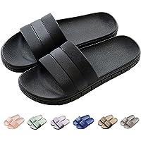 Unisex Slippers for Women/Men Non-Slip Ultralight Flat Soft Sandals Soft House Flip Flop for Indoor Home Garden Bathroom…