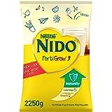 Nestlé NIDO fortified Full Cream Milk Powder Pouch, FortiGrow, 2.25kg