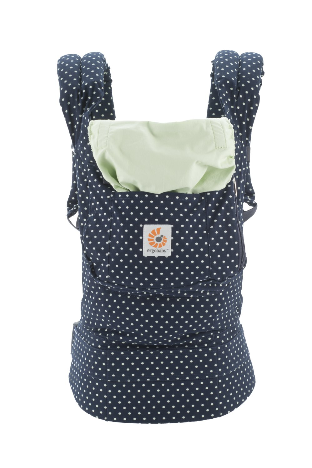 Ergobaby Original Collection Evolutionary Backpack Baby Carrier one size Ergobaby The baby's weight is evenly distributed between the wearer's hips and shoulders. The baby is ergonomically cradled in a natural seated position. It has front, back, and hip carrying positions. 1