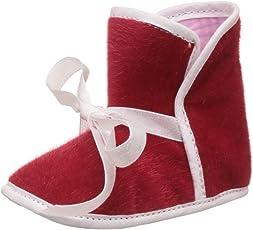 Bootie Pie Unisex High Ankle Red Santa Pie Booties
