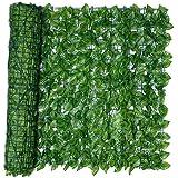 Artificial Leaf Hedge Screen Privacy Fence Panel kunstmatige Ivy Green Leaf Panel Omheining van de tuin Screening Buiten Binn