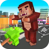 Cube Kong Simulator: City Rampage 3D