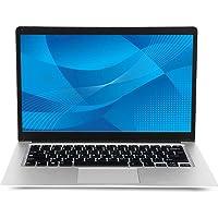 Laptop da 14 pollici (Intel Celeron a 64 bit, 4 GB di RAM DDR3, 64 GB di eMMC, batteria da 10000 Mah, webcam HD, sistema…