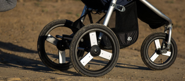 Bumbleride Speed All terrain Jogging Stroller - Dawn Grey Mint Bumbleride  9