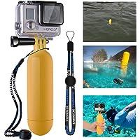 XCSOURCE gelbes Einbeinstativ für die Benutzung im Wasser, mit Auftriebshilfe, Handschlaufe, schwimmendem Handgriff und…