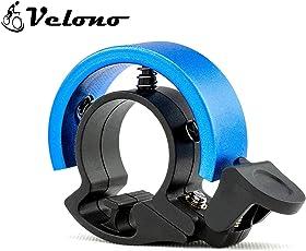 VELONO Fahrradklingel O Design - laut, schnell und einfach montiert - Hochwertiges Aluminium für einzigartigen Klang