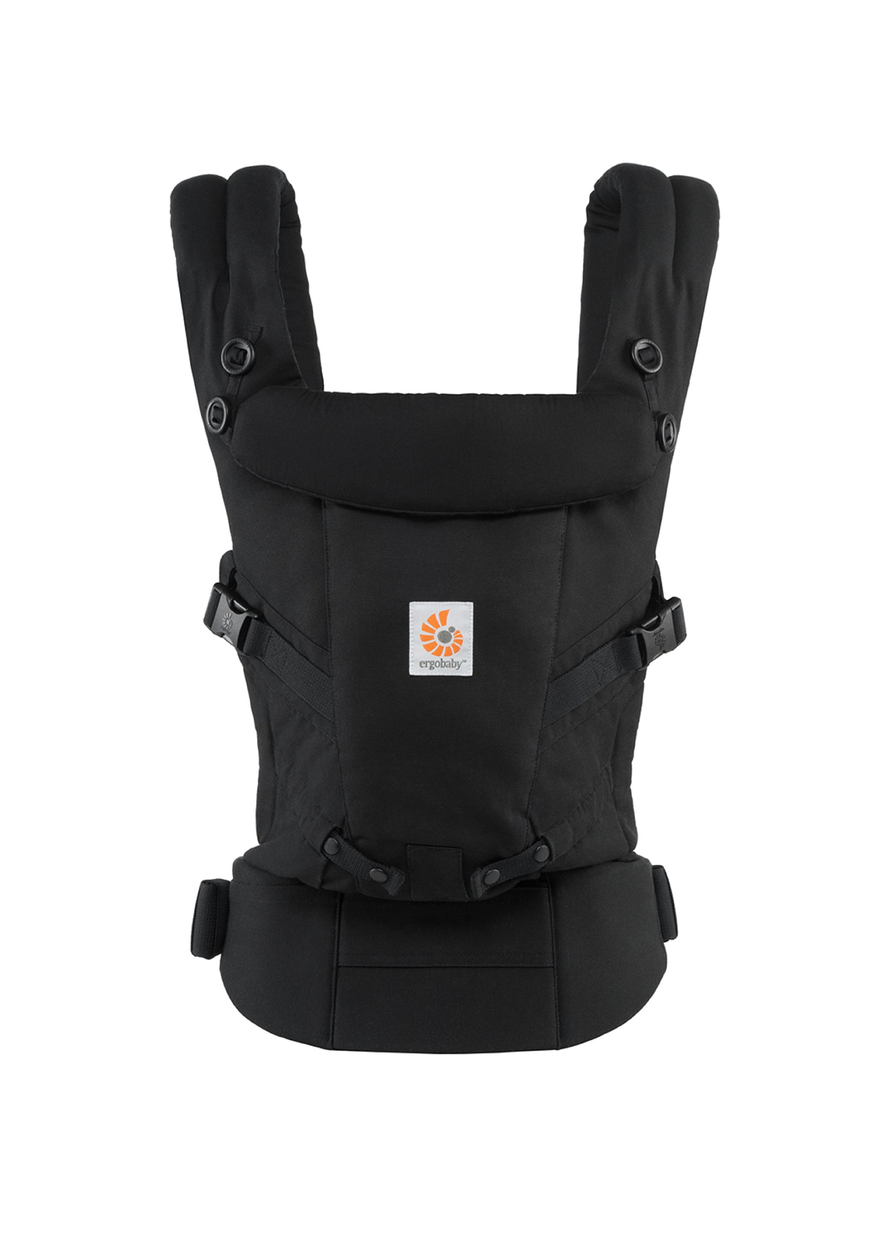ErgoBaby Adapt Baby Carrier Black Ergobaby Adapt to Every Baby Easy. Adjustable. Newborn to toddler. 1