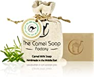 The Camel Soap Factory Milk Soap, Tea Tree & Rosemary, 100 gm