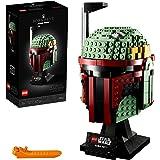 LEGO 75277 StarWars LeCasquedeBobaFett, Set de Construction d'affichage, modèle de Collection avancé pour Adultes