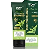 WOW Skin Science Green Tea Face Moisturizer - OIL FREE - Quick Absorbing - Non Sticky - contains Green Tea Extract - for Refi