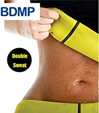 BDMP shaper slimming belt / tummy trimmer hot body shaper slim belt / hot waist shaper belt instant slim look belt for men & women :- M,L,XL,XXL,XXXL sizes available