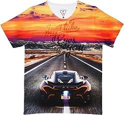 Wear Your Mind Multi Polyester Boys T-Shirt-KST073