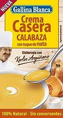 Gallina Blanca Crema Casera de Calabaza con Toque de Nata 100% Natural | Elaborada con Karlos Arguiñano. Ingredientes de Orig