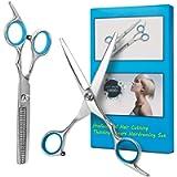 Bubuxy Hair Scissors, Hair Cutting Shears, Professional Hair Cutting Kits Thinning Shears Hairdressing Set