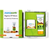 Mamaearth Ubtan Natural Face Wash with Turmeric & Saffron + Ubtan Face Pack Mask for Fairness, Tanning & Glowing Skin with Sa