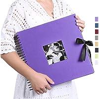 Vienrose Album Photo Scrapbooking 10x15 Livre Fait à La Main DIY Album 80 Pages Cadeaux pour Bebe Valentin Anniversaire…