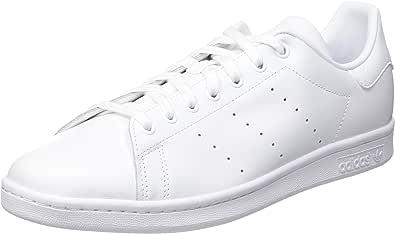 adidas Stan Smith M, Scarpe da Ginnastica Uomo, Footwear White/Footwear White/Footwear White, 41 1/3 EU