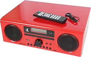 Dl Dab Dab And Fm Dsp Digital Radio Compact All In One Stereo Hi Fi Cd Player Bluetooth Usb Aux In Remote Control With 2 X 15w Speakers